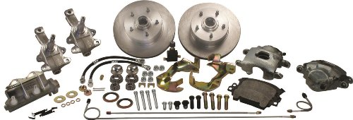 (SSBC A123DS Front Drum to Disc Brake Conversion Kit)