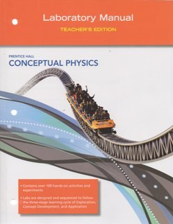 Conceptual Physics, Laboratory Manual, Teacher's Edition