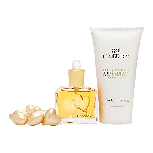 Gai Mattiolo by Gai Mattiolo for Women 3 Piece Set Includes: 1.0 oz Eau de Toilette Spray + 4.2 oz Bath & Shower Gel + 6 Bath Pearls (Feminine Gel Eau De Toilette)