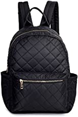 8483bbda1c2d TOYOOSKY Black Backpack School Backpack Lightweight Women Travel Backpack  Hold 14   Laptop for Girls