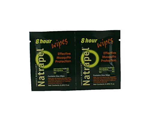 Adventure Medical Kits/Tender Corporation Natrapel, 8 Hour deet free repellent 12 pack wipes (Pack of 2)
