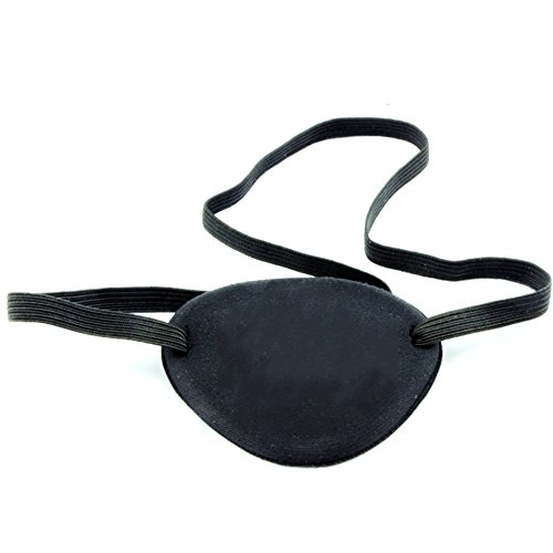 MAXGOODS Elastic Eye Patch for Adults Lazy Eye Amblyopia Strabismus (2-Pack)