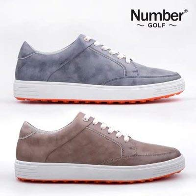 t:mon Counter Number Golf Shoes Fixed Nail Golf Men's Shoes Men's Casual Shoes Flat Shoes