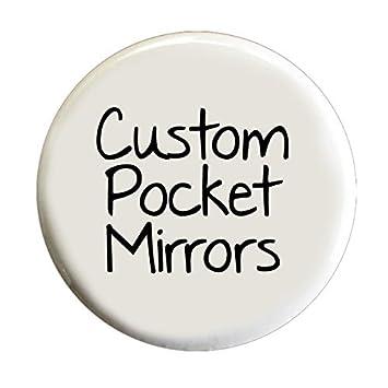 Amazon.com: Custom Espejos de bolsillo – 2.25 inch redondo ...