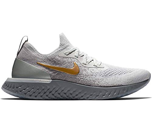 a3cfbd01a2 Nike Womens Epic React Flyknit Metallic PREM Running Trainers AV3048 Sneakers  Shoes (UK 6.5 US