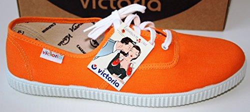 Victoria Inglesa Lona 6613, Zapatillas de Tela Unisex Naranja