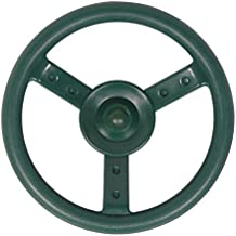 Swingset Steering Wheel Attachment Playground Swing Set Accessories Replacement (Green)