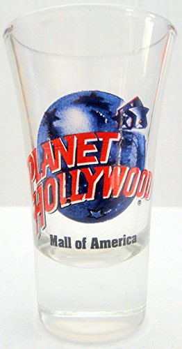 Mall Of America Planet Hollywood City Cordial Shot Glass