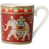 Villeroy & Boch Samarkand Rubin Jarra de 300 ml, Porcelana, Blanco, 7x7x8 cm