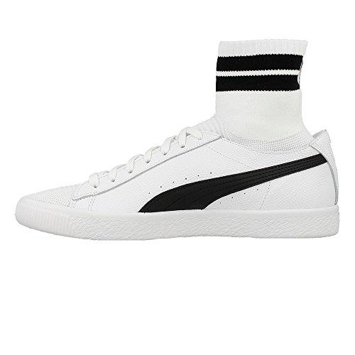 Puma Clyde Sock Nyc Whit - 36494802 Bianco-nero