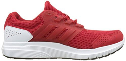 adidas Galaxy 4 M, Scarpe Running Uomo, Rosso (Scarlet/Scarlet/Footwear White), 47 1/3 EU