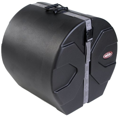 - SKB 14 X 18 Marching Bass Drum Case with Padded Interior