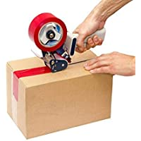 DIGITAL SHOPEE Manual Hand Operated Tape Dispenser With 2 inch PVC Transparent Tape Roll-50mm or 2 inch