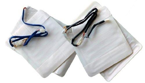 ObboMed SH 4180 12V Chauffage de siège pour rééquipement Compatibilité Universelle de rééquipement Kit pour siège, Accessoire pour véhicule – Set complet pour Chauffeur & passanger