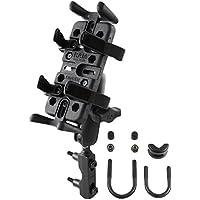 RAM Mounts (RAM-B-174-UN4U) Combination Brake/Clutch Reservoir U-Bolt Mount with Universal Finger-Grip Holder