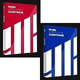 IKON [NEW KIDS:CONTINUE] Album RANDOM Ver CD+POSTER+PhotoBook+Card K-POP SEALED