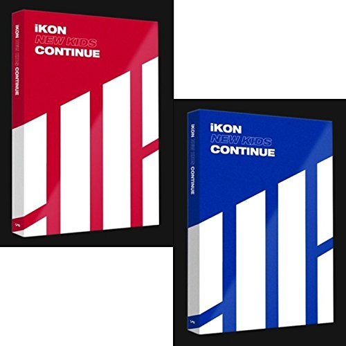 IKON [NEW KIDS:CONTINUE] Album RANDOM Ver CD+POSTER+PhotoBook+Card K-POP SEALED