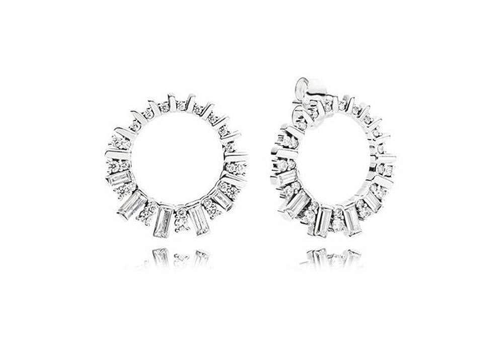 Ice And Snow Ice Crystal Zircon Shining Stud Earrings Fashion Earrings