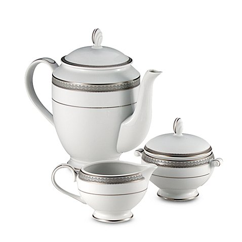 Platinum Covered Sugar Bowl (Mikasa Platinum Crown Covered Sugar Bowl)