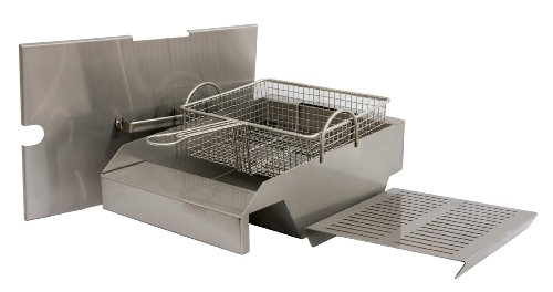 Solaire Stainless Steel Steamer/Fryer for Solaire 30, 42, and 56-Inch Grills
