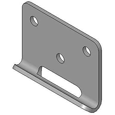 Load Capacity 900 Lbs Southco Inc K5-2811-52 Rotary-Action Draw Latch Keeper 3.43 Closed Length Pack of 6