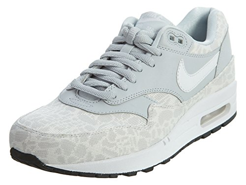 nike womens air max 1 JCRD running trainers 819808 sneakers shoes Pure Platinum/White-black