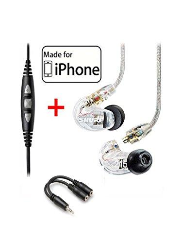 Shure SE215 CL Earphones CBL M K EFS