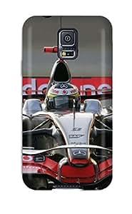 VphgxSJ2834WbHVS Snap On Case Cover Skin For Galaxy S5(mclaren F1 Car )