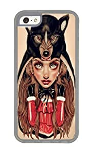 linJUN FENGApple iphone 6 4.7 inch Case,WENJORS Adorable Red Riding Hood Soft Case Protective Shell Cell Phone Cover For Apple iphone 6 4.7 inch - TPU Transparent