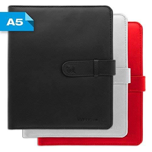 Funda A5 Whynote - Funda blanca para cuaderno, formato A5 ...