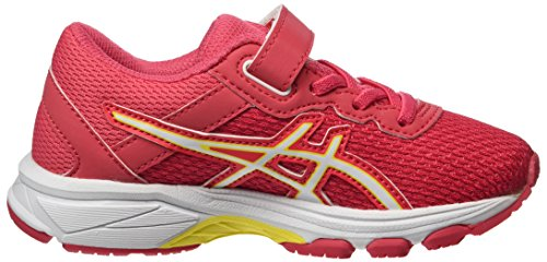 Asics Unisex-Kinder Gt-1000 6 PS Gymnastikschuhe, Rot (Rouge Red/White/Vibrant Yellow), 27 EU