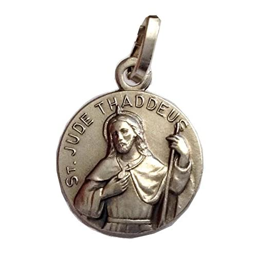 Saint Jude Thaddeus The Apostle Medal with Chain