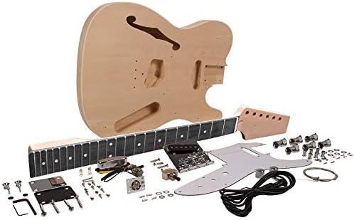Seismic Audio – SADIYG-06 – Kit de guitarra eléctrica semihueca ...
