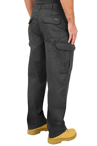 ProLuxe Pantalon de Travail Cargo Combat Endurance pour Hommes avec Poches genouillères et Coutures renforcées