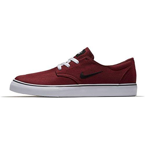 Nike Hommes Sb Embrayage Skateboard Chaussures Équipe Rouge / Noir Blanc