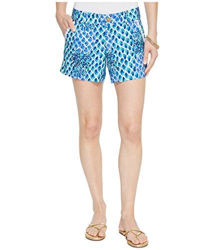 Lilly Pulitzer Women's Callahan Shorts Resort White Toe in 6 5 ()