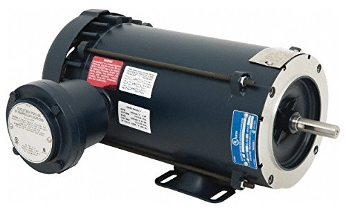 1 hp 1,800 Max RPM Explosion Proof Motor 56C NEMA Frame, 230/460 Volts, 85.537; Efficiency at Full Load