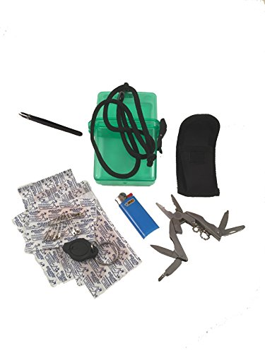 Mini-Survival-23-Piece-Kit-Tools-First-Aid-Misc-For-Cars-On-The-Go-Camping-Moms-and-Dads-Survival-Gear-Emergency-Preparedness