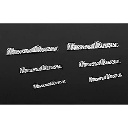 RC 4WD ZS1132 RC4WD Turbo Diesel Emblem Set