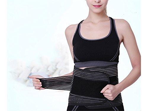 Wetietir Skating Waist Trimmer Sweat Belts Adjustable Slimming Belt Women Men Protection by Wetietir