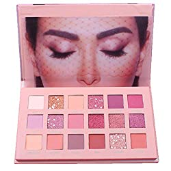 Clearance Sale!DEESEE(TM)🍁🍁INS Same Style 18 Colors Eye Shadow Makeup Pearl Metallic Eyeshadow Palette Makeup