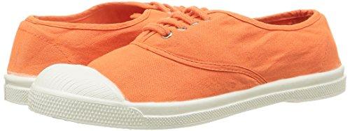 Basses Bensimon 215 Orange Baskets Orange Femme F15004c157 zEfExqO