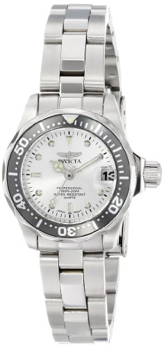 Invicta Women's INVICTA-14985 Pro Diver Analog Display Japanese Quartz Silver Watch