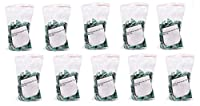 10 Bag 50 Piece RJ-45 Color Coded Strain Relief Boots Green, CNE587417