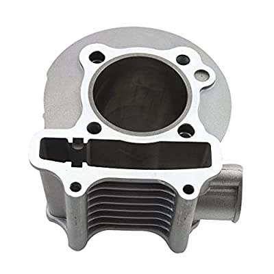 GOOFIT 57.4mm Bore Cylinder Kit with Piston for 4 Stroke GY6 150cc ATV 157QMJ Engine: Automotive