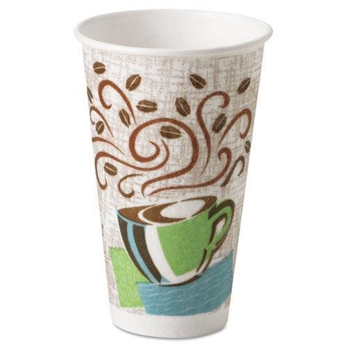 DIX5356DX - Dixie 5356DX PerfecTouch 16 Ounce Insulated Paper Cups, Box Of 500