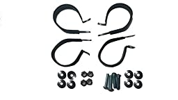 RZR UTV CAN AM UNIVERSAL ROOF WINDSHIELD RADIO ROLL CAGE CLAMPS 1.75 Set of 4 Clamps TUBING #ACCC275