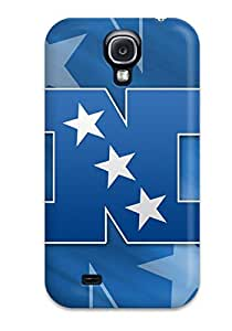 Tough Galaxy DMPJISV5845RMZEh Case Cover/ Case For Galaxy S4(blueports Nfl )
