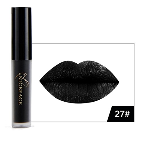 Start Official Waterproof Flower Halloween Moisturizer Lipstick Matte Lip gloss (A)]()