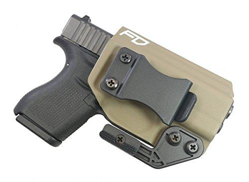 Fierce Defender IWB Kydex Holster Glock 43/43X Paladin Series (Flat Dark Earth)